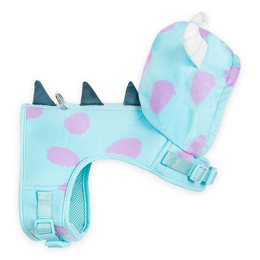 Monsters, Inc.-themed dog harness