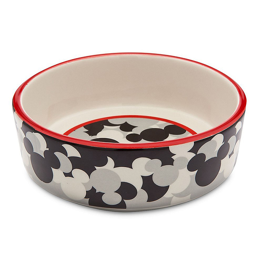 Mickey Mouse themed dog bowl