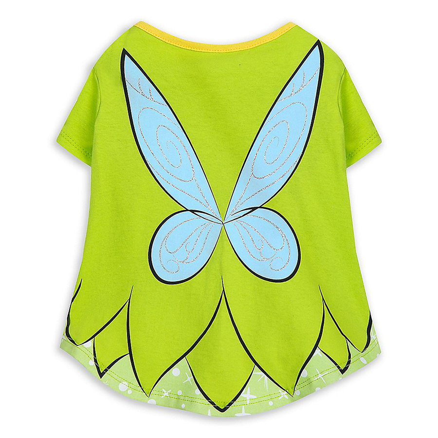 Tinker Bell-themed costume t-shirt for dogs