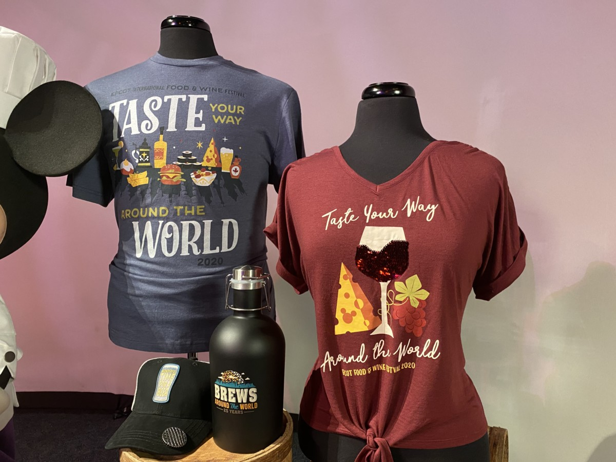Epcot Food and Wine Festival Merchandise Preview! #tasteepcot 19