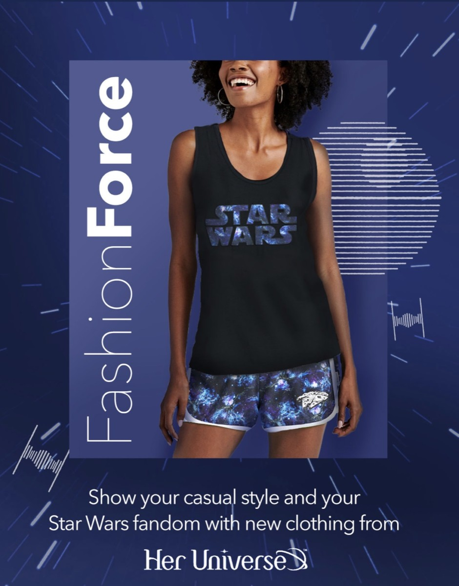 New Star Wars Apparel from Her Universe on shopDisney! 8