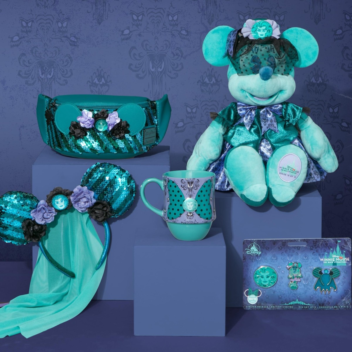 Minnie Mouse the Main Attraction- Haunted Mansion October Line 2