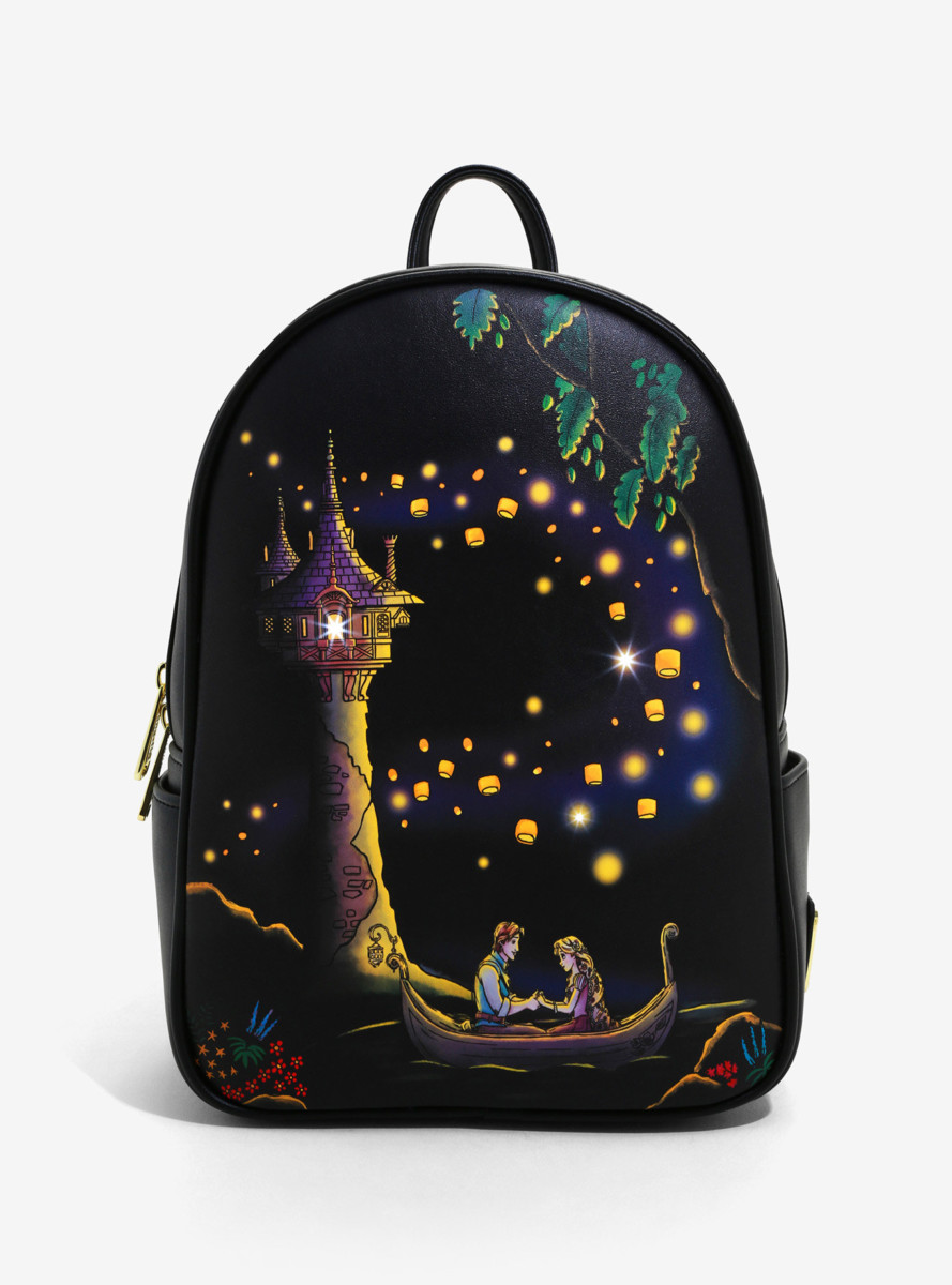 Loungefly Disney Tangled Lanterns Light-Up Mini Backpack - BoxLunch Exclusive