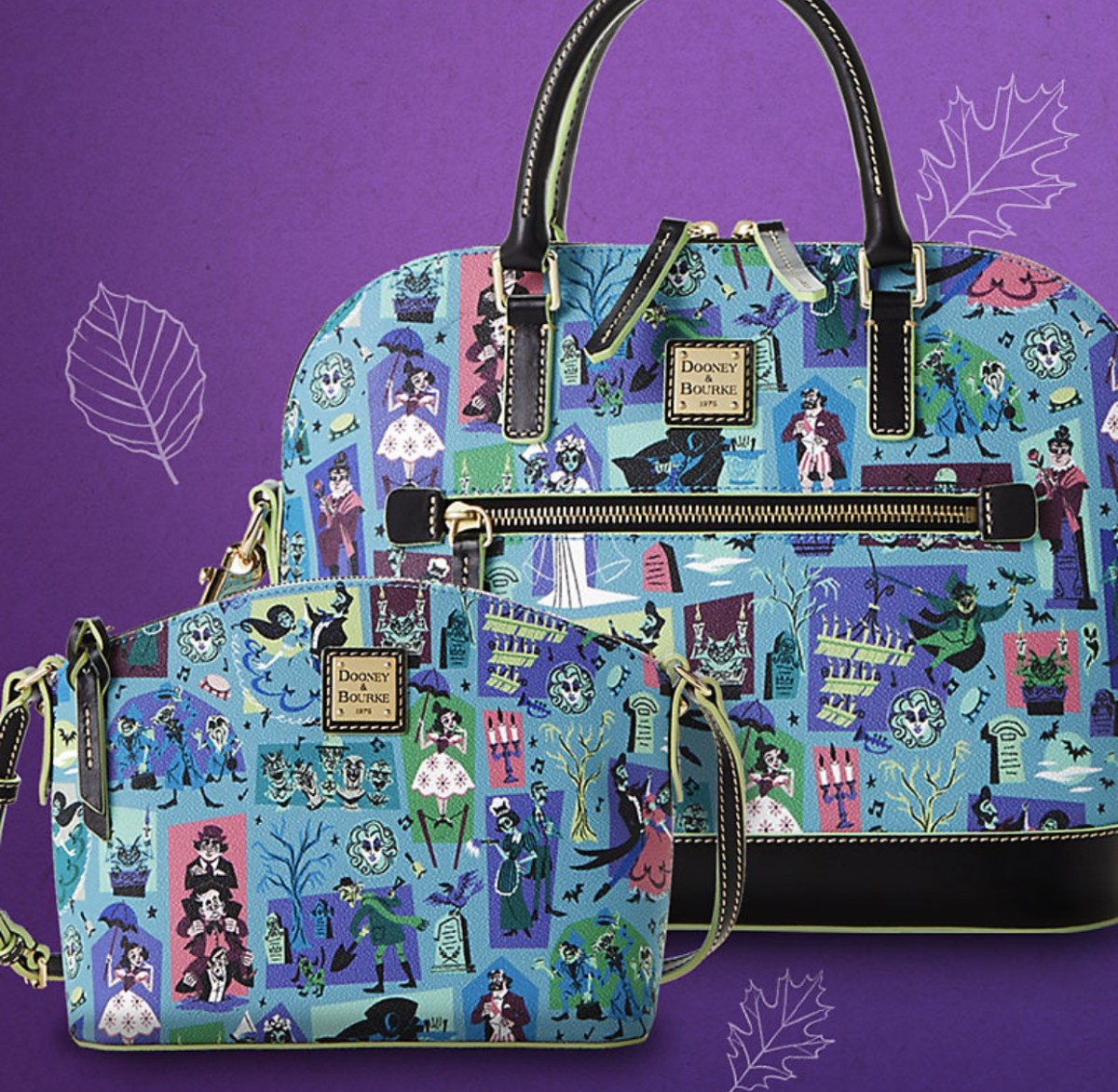NEW! The Haunted Mansion by Dooney & Bourke 6