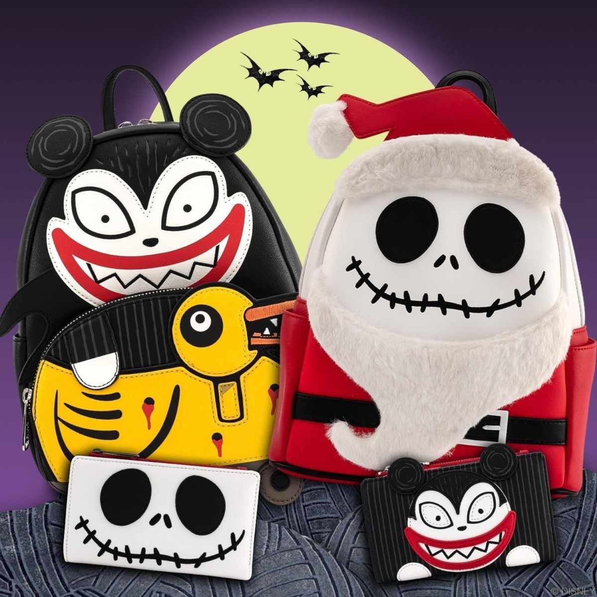 New Nightmare Before Christmas Bags from Loungefly 5