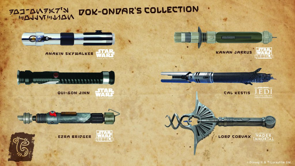 Vote For The Next Legacy Lightsaber in Celebration of Products Direct From Star Wars: Galaxy's Edge Coming to shopDisney, Disney Springs and Downtown Disney District 8