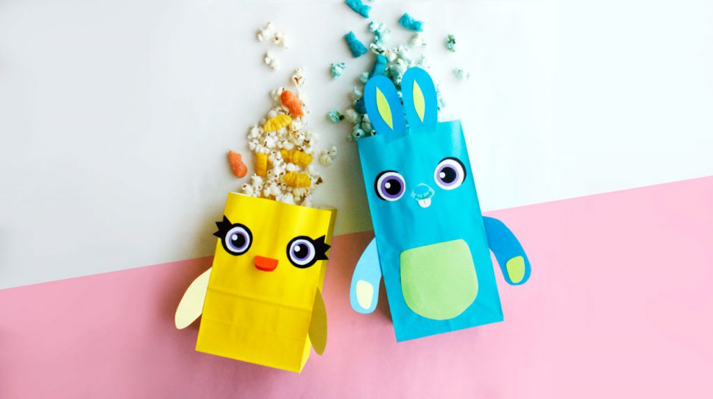 Ducky and Bunny Treat Bags