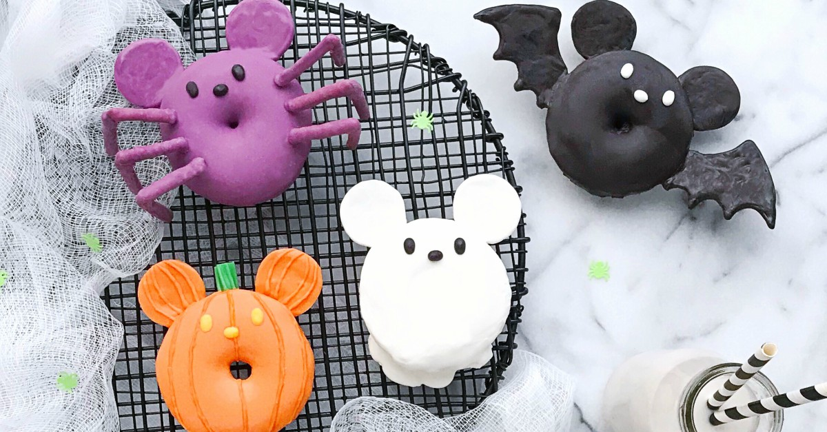 Spooky AND Cute Mickey Halloween Donuts! 8