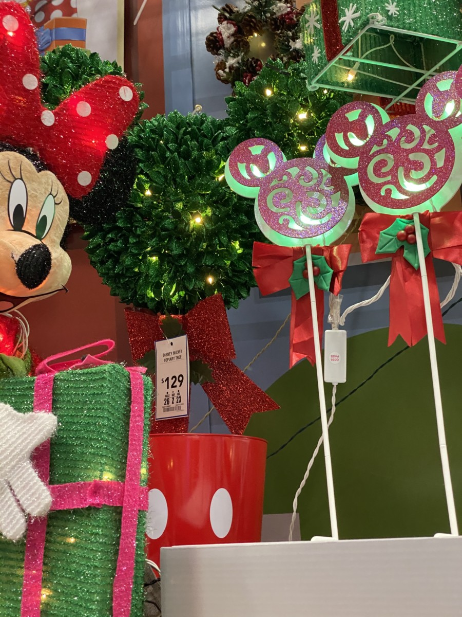 New Disney Christmas Decor Now at Lowe's! 15