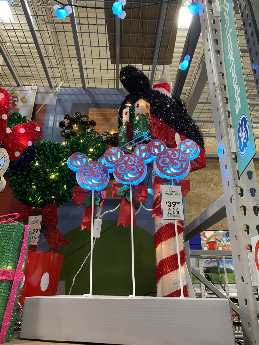 New Disney Christmas Decor Now at Lowe's! 11