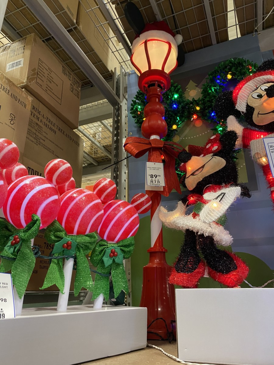 New Disney Christmas Decor Now at Lowe's! 12