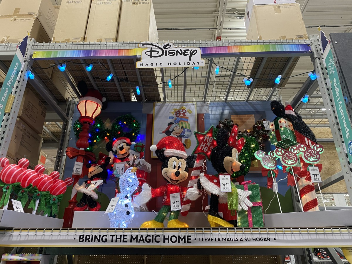 New Disney Christmas Decor Now at Lowe's! 10