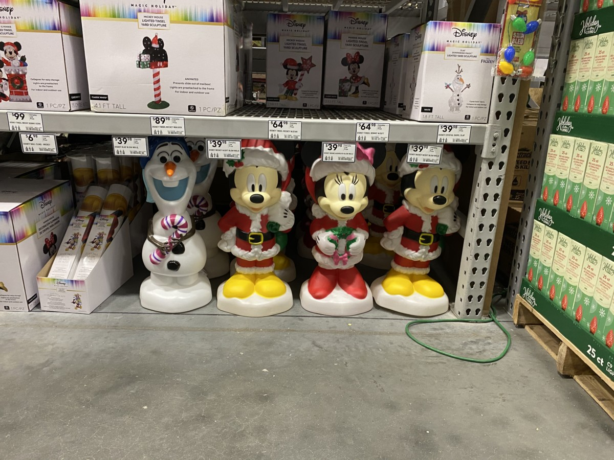 New Disney Christmas Decor Now at Lowe's! 17