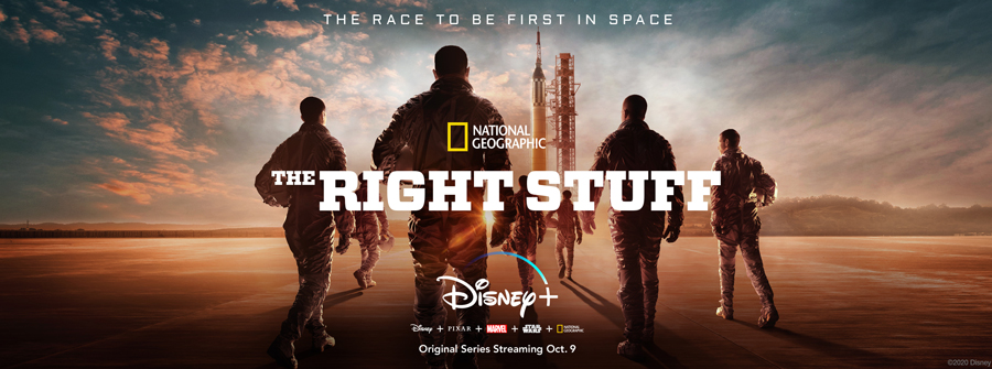The Race to be First in Space - National Geographic. - The Right Stuff - Disney+