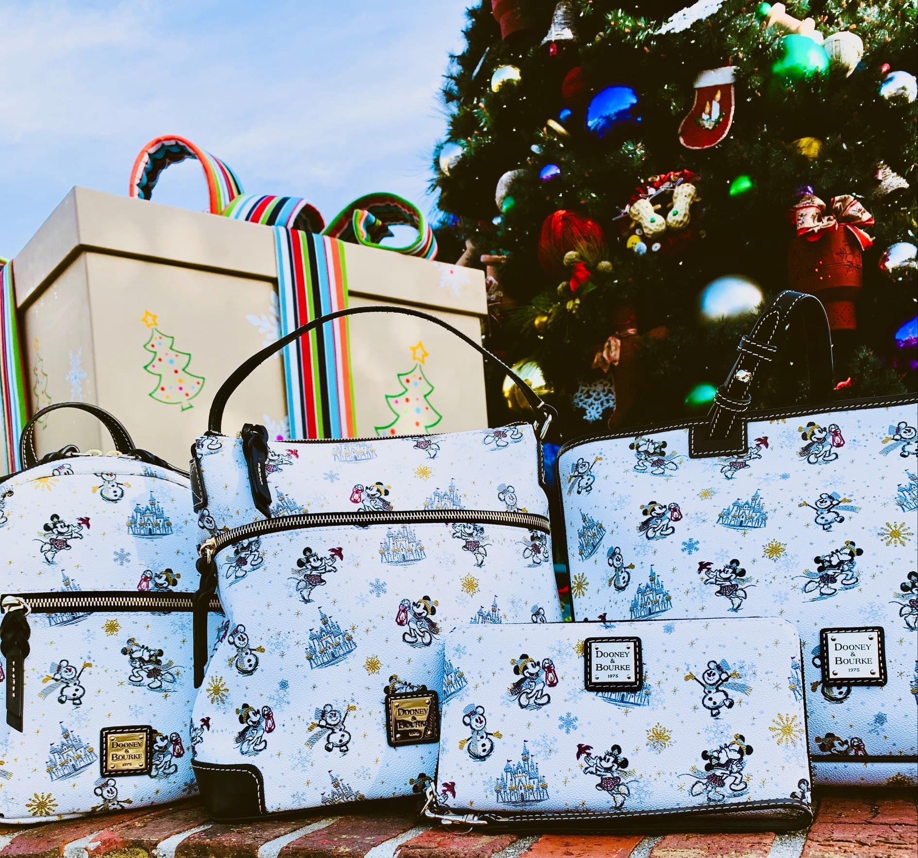 The Disney Holiday Dooney and Bourke Line Arrives November 9th! 3