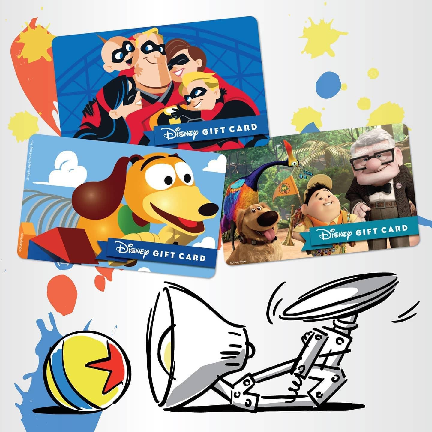 New Disney Gift Card Designs for Your Holiday Gift Giving from shopDisney! 13