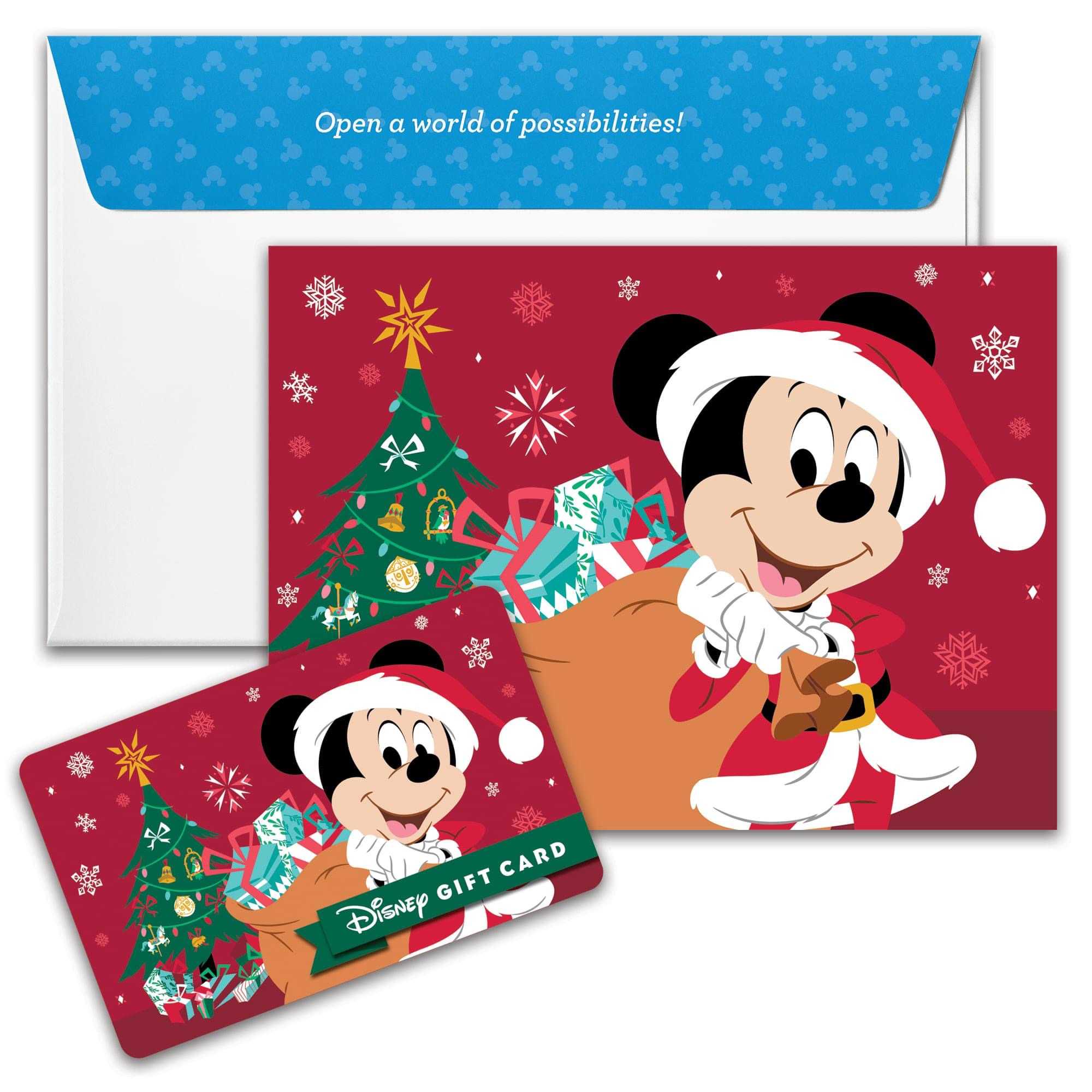 New Disney Gift Card Designs for Your Holiday Gift Giving from shopDisney! 12