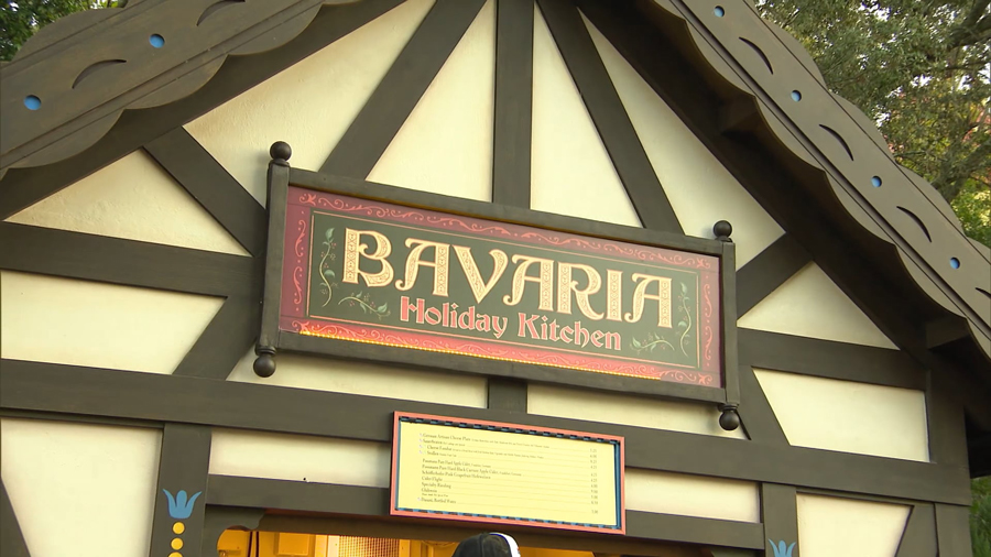 Bavaria Holiday Kitchen at EPCOT during the Taste of EPCOT International Festival of the Holidays presented by AdventHealth