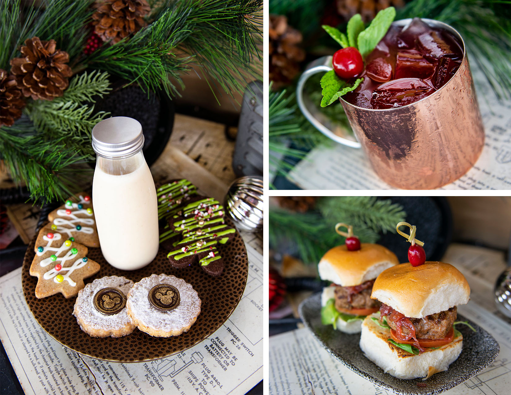 Holiday offerings from Jock Lindsey's Holiday Bar