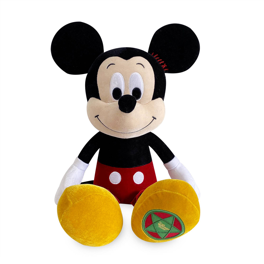 Mickey Mouse Vintage Holiday Plush
