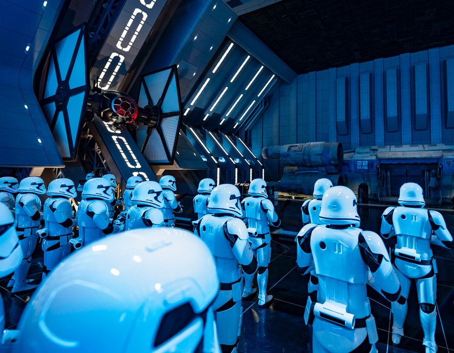 #DisneyMagicMoments: Behind the Camera –Star Wars: Rise of the Resistance at Disney's Hollywood Studios…From a Certain Point of View 6