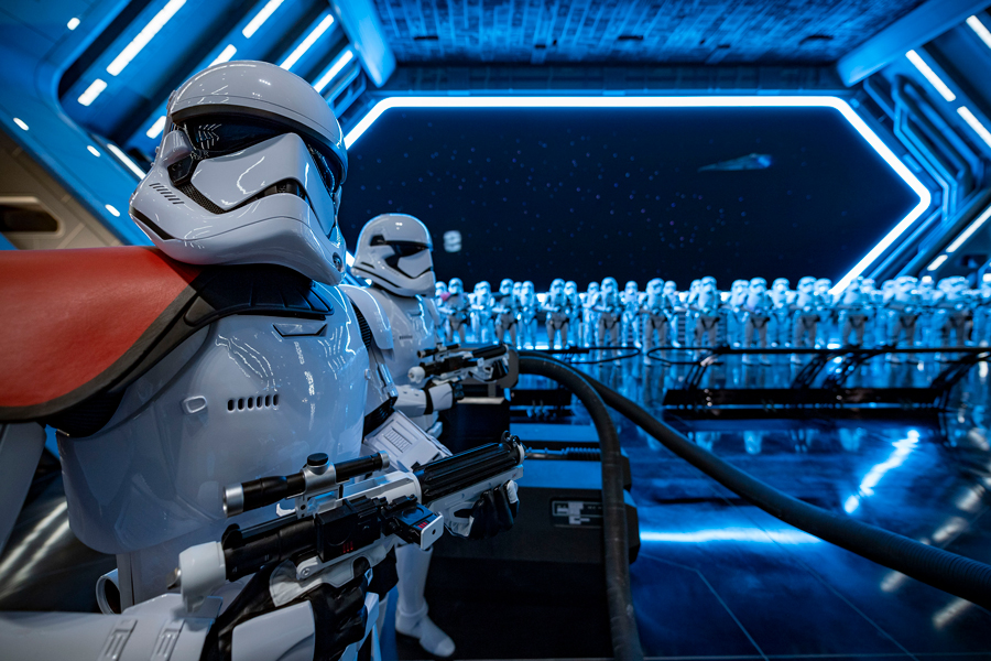 #DisneyMagicMoments: Behind the Camera –Star Wars: Rise of the Resistance at Disney's Hollywood Studios…From a Certain Point of View 9