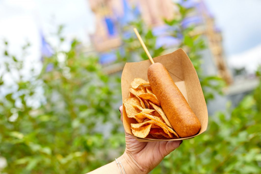 Hand-dipped Corn Dogs at Sleepy Hollow