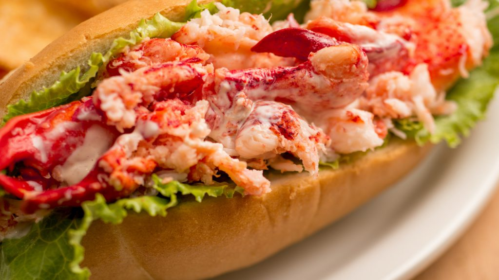 Lobster Roll from Tomorrowland Terrace Restaurant