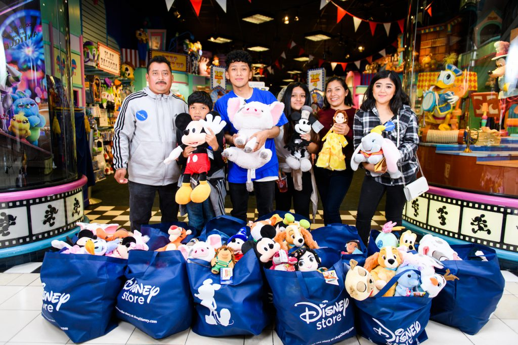 Henry's wish is granted at the Disney Store at Clackamas Town Center in Portland, Oregon, on Friday, June 21, 2019.