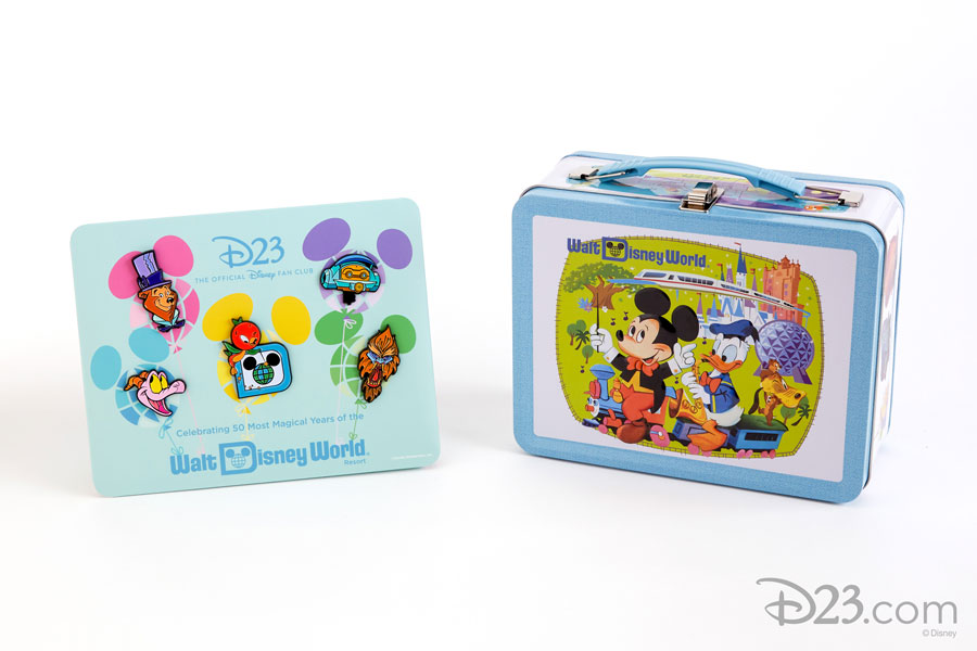 D23's New Collector Set: Tin Lunchbox and Pin Set